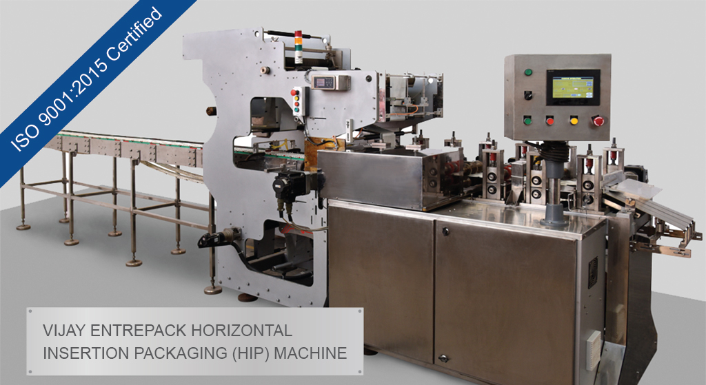 Vijay Horizontal Form-Fill & Seal (HFFS) Machine.